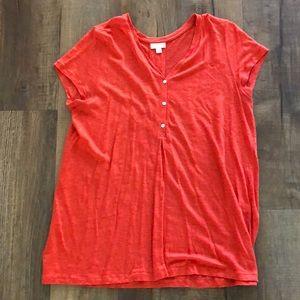 J Jill linen shirt